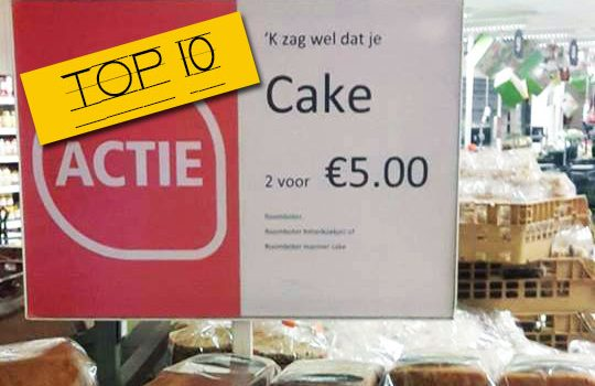 Top 10 voutjes van april