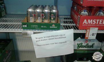 Tja, alcohol maakt meer kapot dan je lief is …