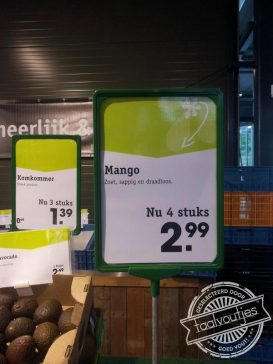 Dit fruit gaat met z'n tijd mee.