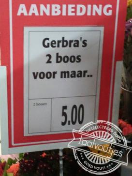 Lief zijn ze wel duurder.