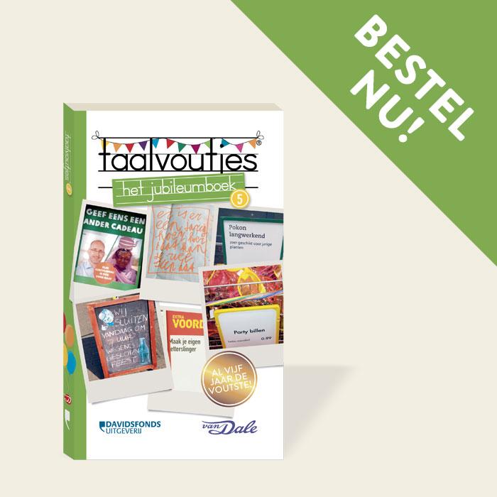 Taalvoutjes-het jubileumboek