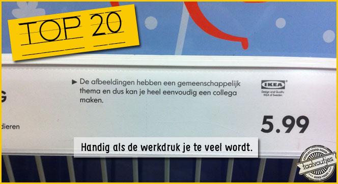 Toplijst: IKEA