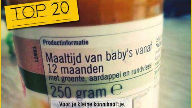 Koddig: 20+ babyvoutjes
