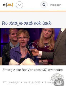 Het is eerder om te huilen, RTL