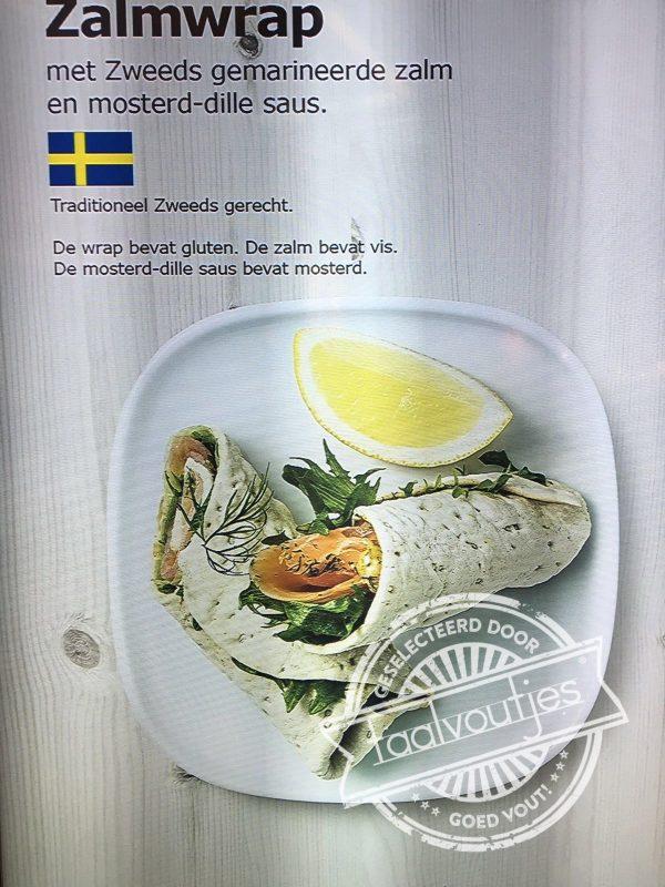 Zalm bevat vis