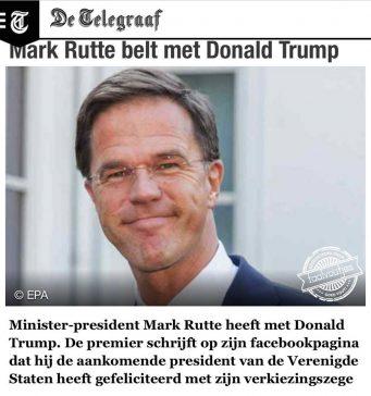 BREAKING NEWS: Rutte heeft een relatie!