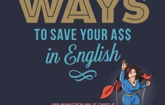 Boekrecensie: 100 ways to save your ass in English