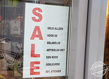 Dus de rest is gratis?