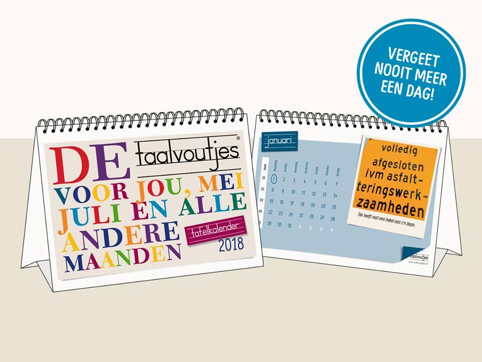 Tafelkalender 2018