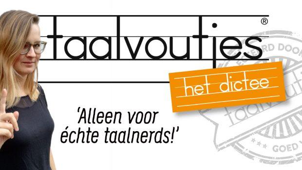 Kom ook naar Taalvoutjes-het dictee!
