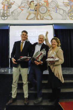De winnaars van Taalvoutjes-het dictee 2017