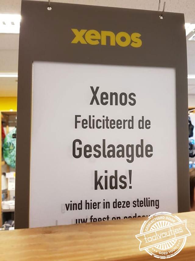 feliciteerd_Feliciteren_Geslaagd_Xenos_Winkel_Grammatica_Onderwijs
