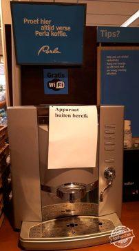 Voor offline koffie.