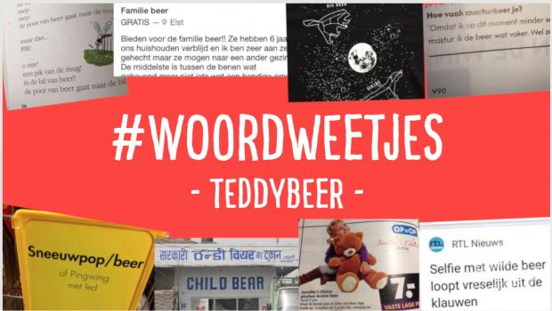 Woordweetje in beeld: Teddybeer