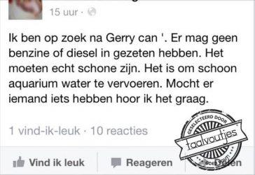 Gerry, waar ben je?!