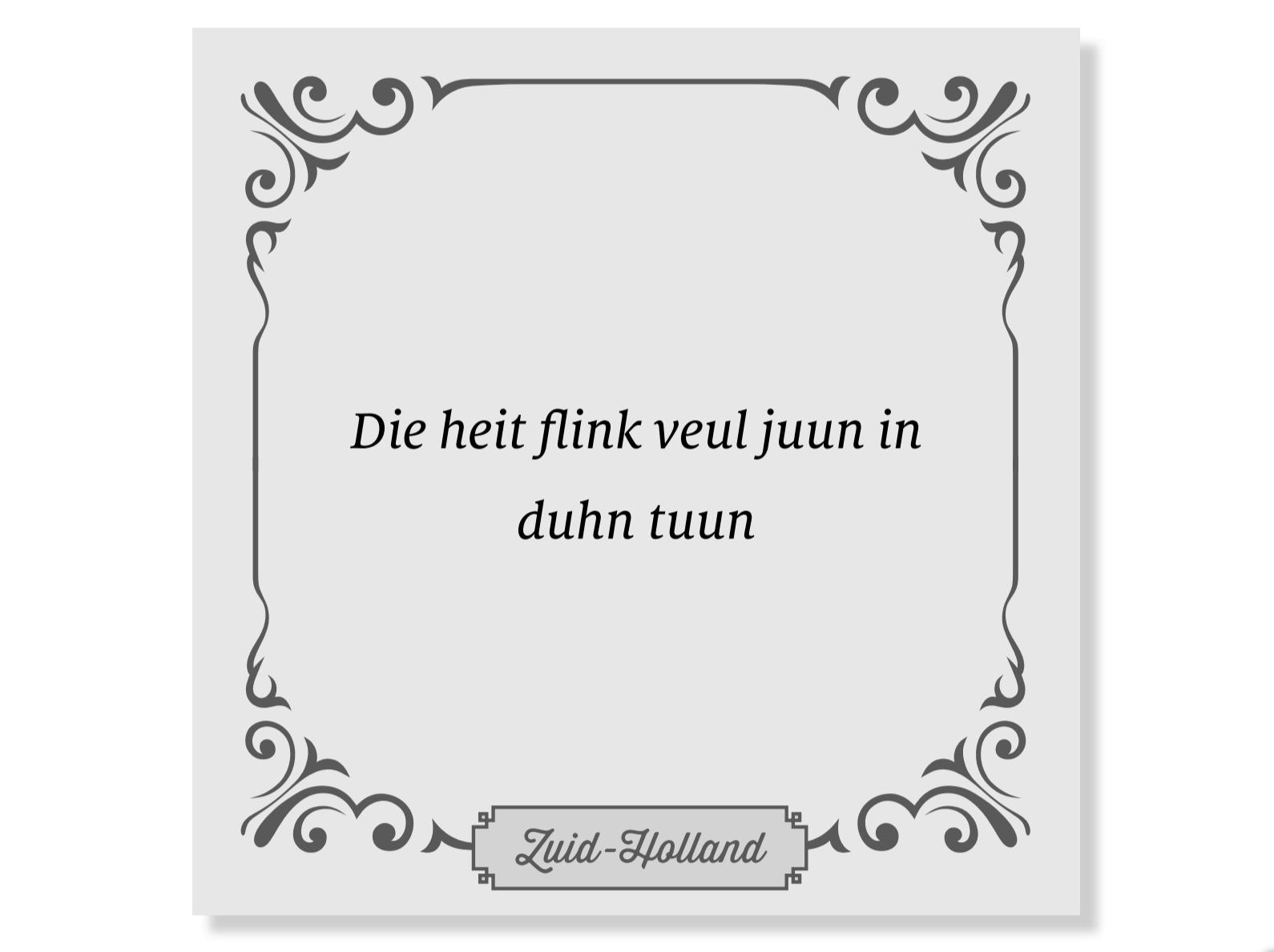 Brabantse Spreekwoorden En Gezegden CHX81
