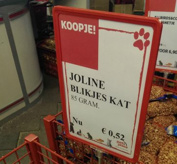 De hond zat al in de pot.