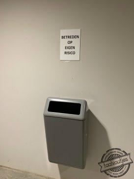 Alleen als je een vuilnisbakkenras bent.