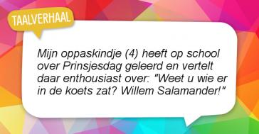 En nu is het Willem Baardagaam!