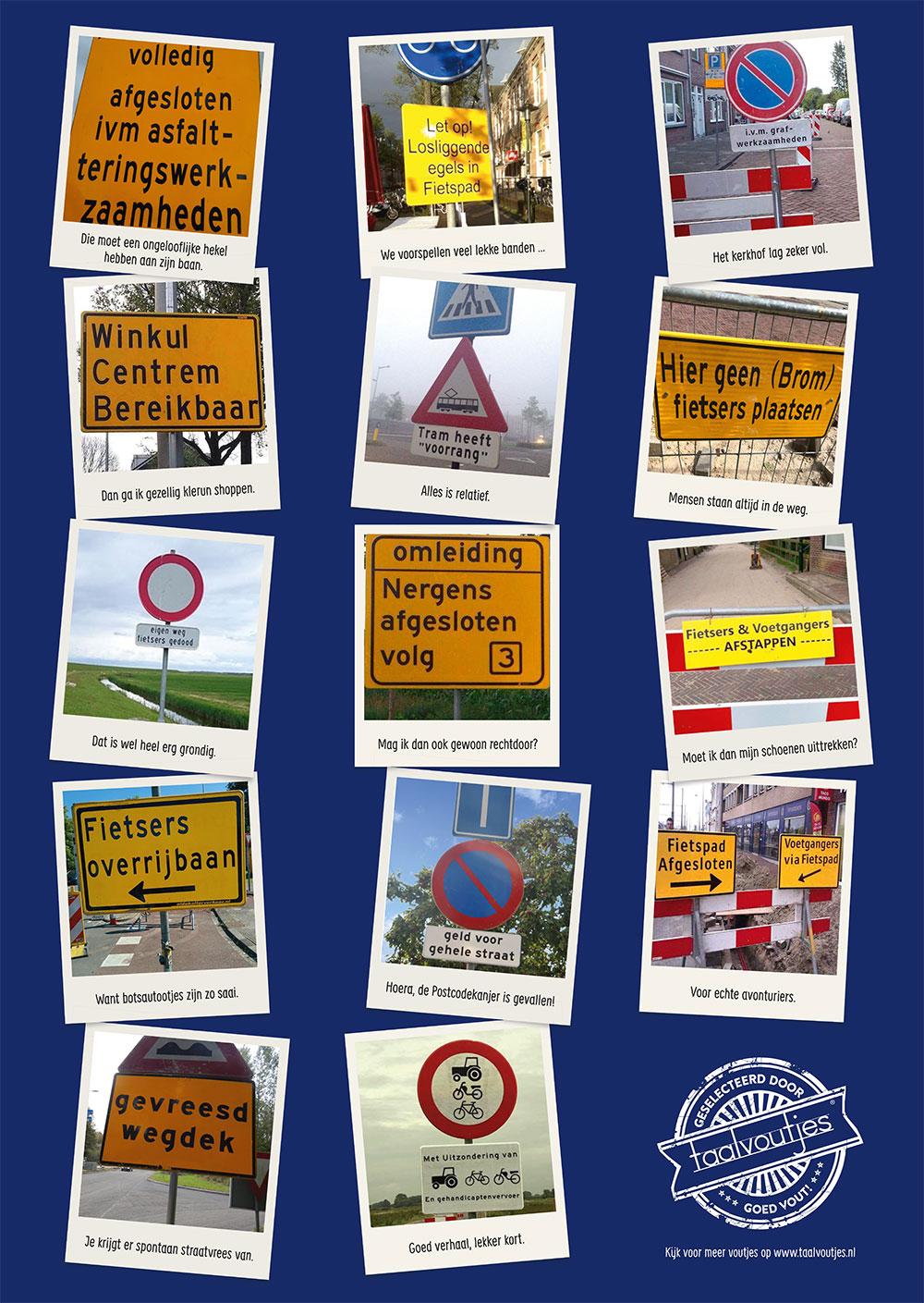 Taalvoutjes_posters_2019_verkeersborden