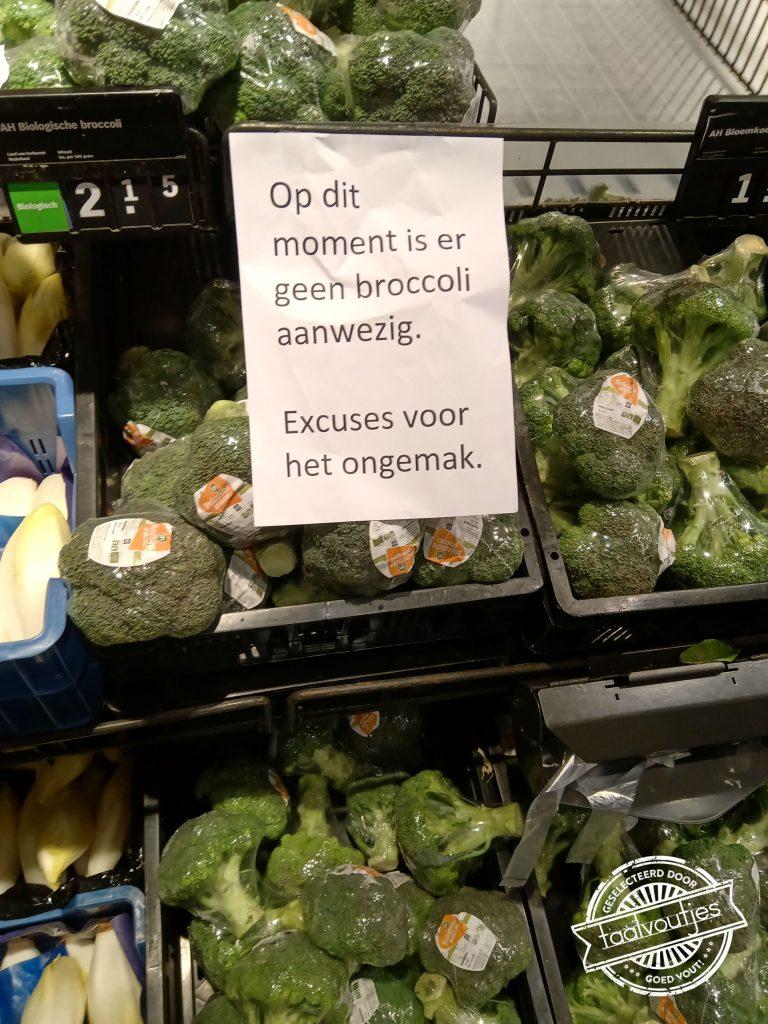 Wel of geen broccoli?