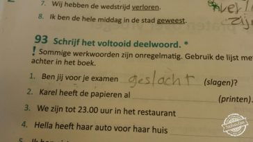 Dat is wel een groot offer.