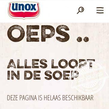Dat kan alleen maar Unox zijn!