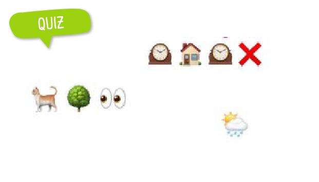 Quiz spreekwoorden emoji