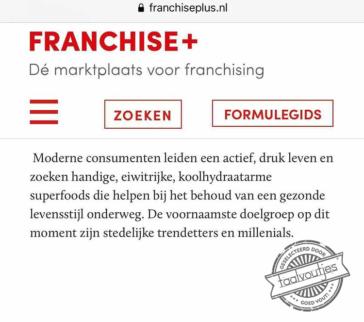 De Nederlandse benaming voor influencers.